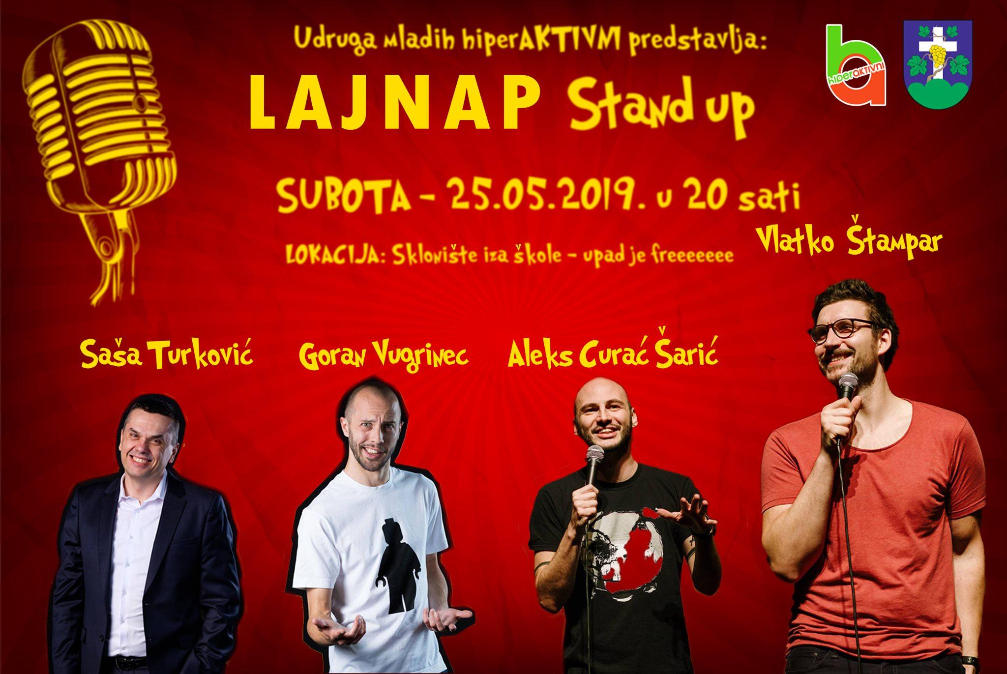 Stand up Lajnap Cestica