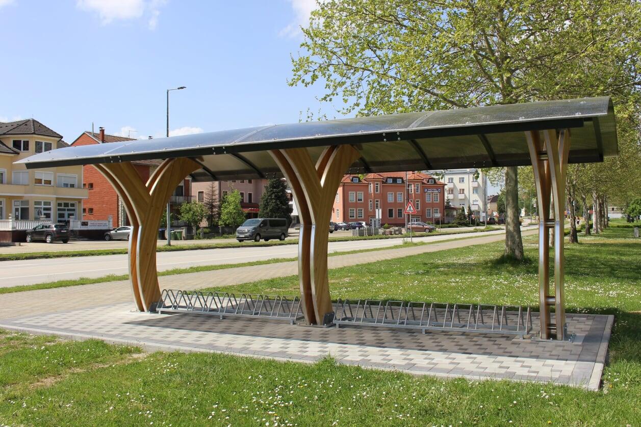 Parkiralište za bicikle Ludbreg
