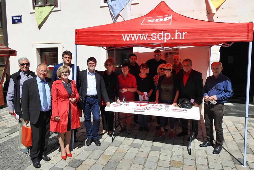 SDP Varaždin izbori za EU parlament