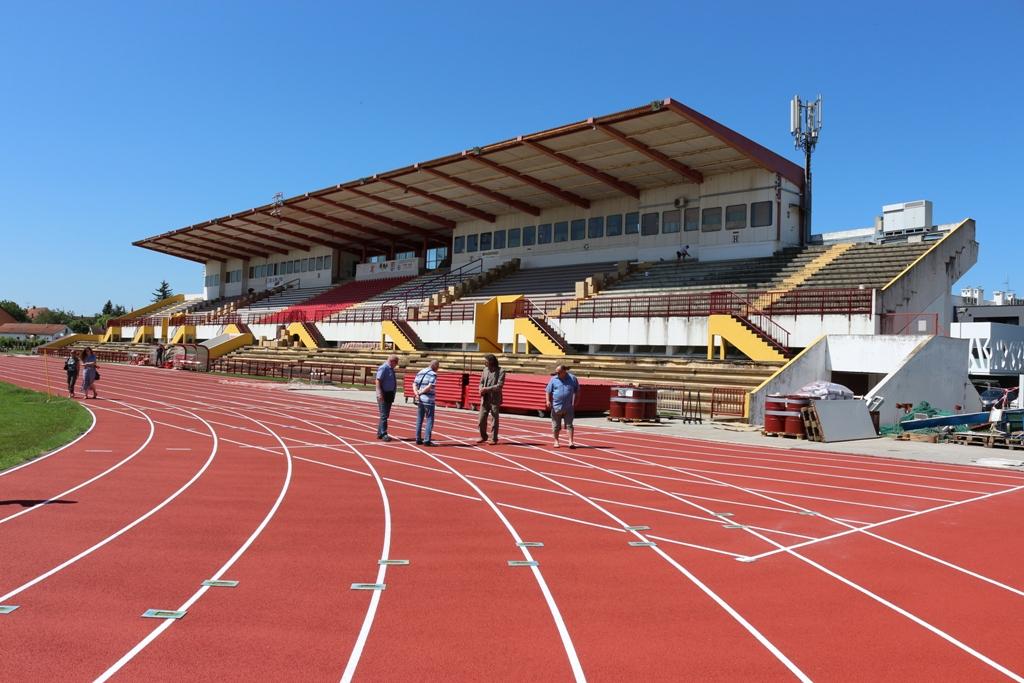 Stadion Sloboda obnova