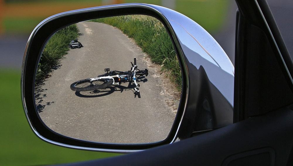 nesreća, biciklist, ilustracija