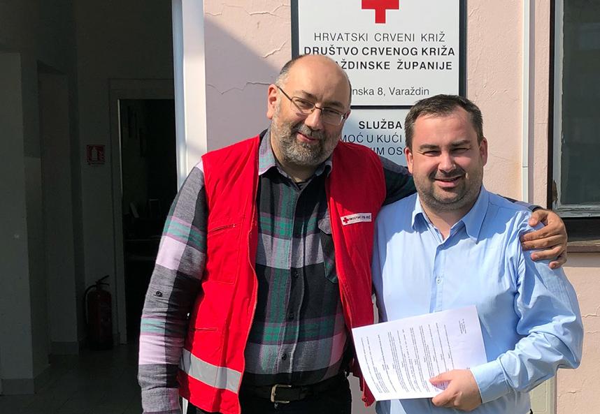 crveni križ lepoglava