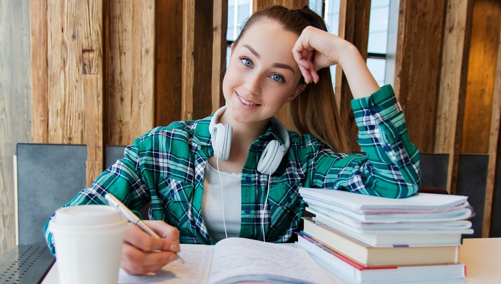 učenici, studenti, ilustracija
