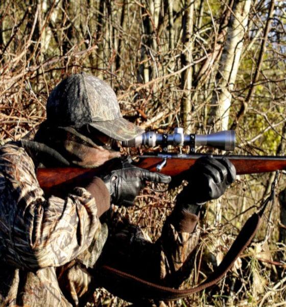 lov lovac puška
