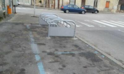 novi stalak za bicikle Varaždin