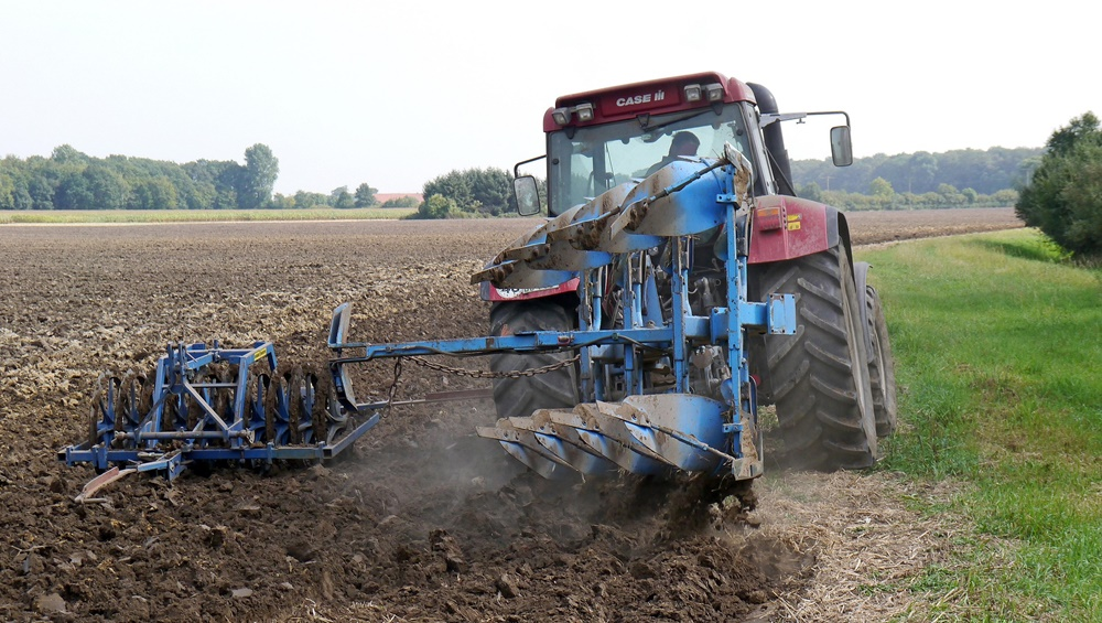 oranje, traktor