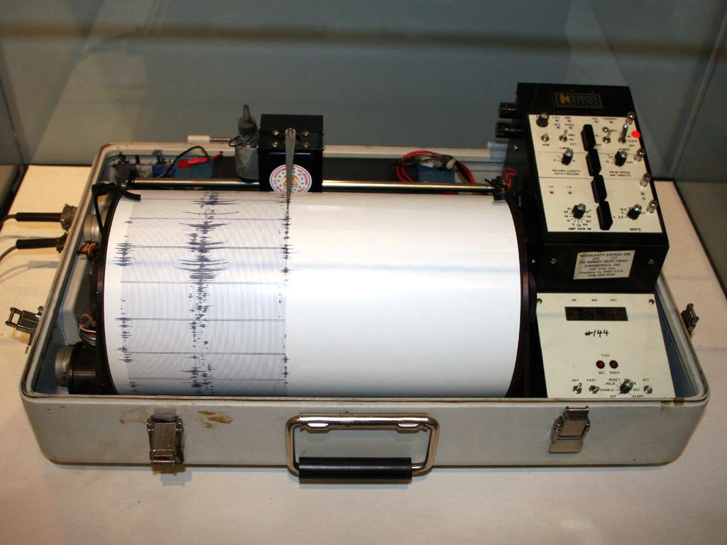 seizmograf potres, Foto: Wikipedia