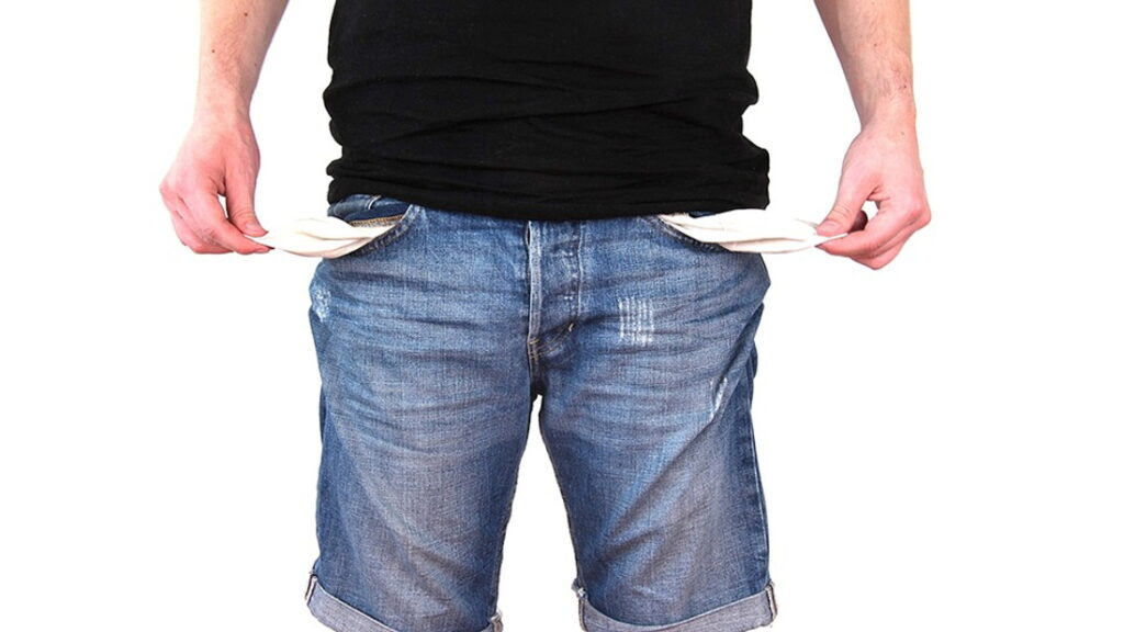 stečaj potrošača bankrot siromaštvo novac