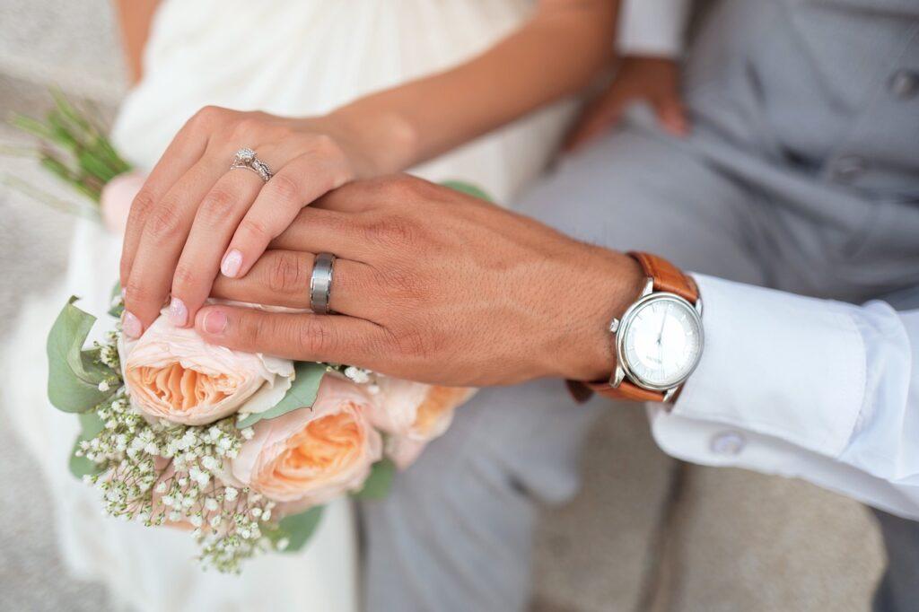 vjenčanje brak prsten