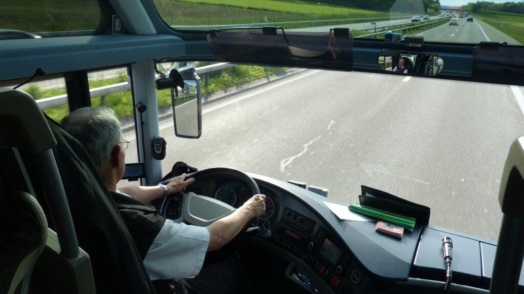 vozač autobusa autobus